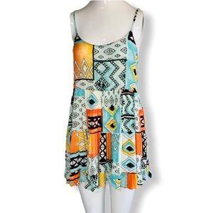 Billabong Colorful Beach Dress Sz. S